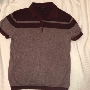 Men's Banana Republic Burgundy Polo